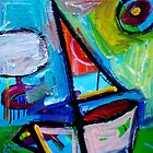 SAILING  3  by ART PRINTS ONLINE         by artist SARA  CATENA