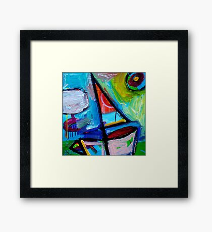 SAILING  3  Framed Print