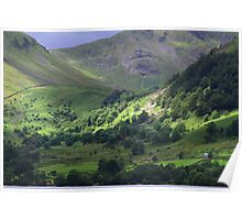 Lonely Barn - Ullswater Poster