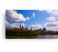 Canadian Parliament Buildings - Ottawa Canvas Print