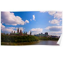 Canadian Parliament Buildings - Ottawa Poster