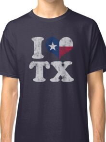 I Heart Texas Flag TX Classic T-Shirt