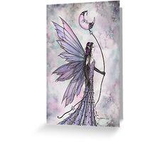 Captive Moon Fairy Fantasy Art Illustration  Greeting Card