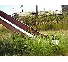 disused slide Photographic Print