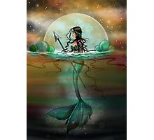Mystic Sea Mermaid Fantasy Art by Molly Harrison Photographic Print