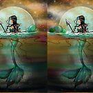 Mystic Sea Mermaid Fantasy Art by Molly Harrison by Molly  Harrison