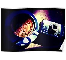 Coffee. Lomography Poster