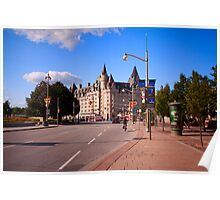 Chateau Laurier - Ottawa Luxury Hotel Poster