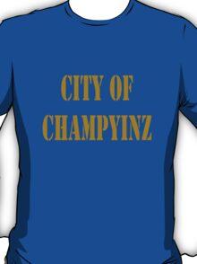 Champyinz city of geek funny nerd T-Shirt