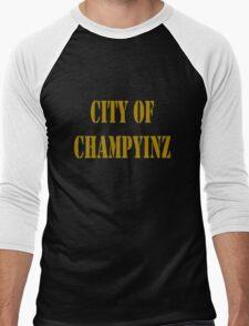 Champyinz city of geek funny nerd Men's Baseball ¾ T-Shirt