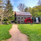 New England Grist Mill II by Monica M. Scanlan