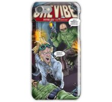 SheVibe Presents - Tantus in 007 Inches: The Uncut Protocol Cover Art iPhone Case/Skin