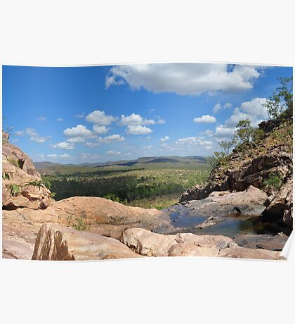 Gunlom Falls in Kakadu Poster