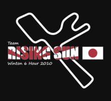 Team Rising Sun - Black Tshirt Version by silverra23