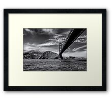 San Francisco - Golden Gate Bridge Framed Print