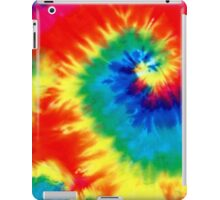 Retro Tie Dyed Psychedelic Pattern iPad Case/Skin