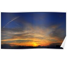 Praire Sunset Poster
