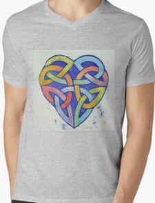 Endless Rainbow Mens V-Neck T-Shirt