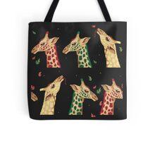 psychedelic giraffes  Tote Bag