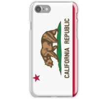 Patriotic Flag of California Republic iPhone Case/Skin