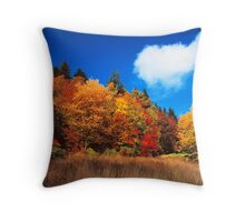 MEADOW,AUTUMN Throw Pillow