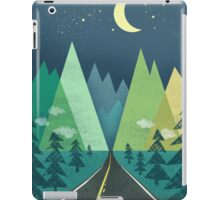 the Long Road at Night iPad Case/Skin