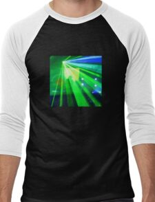 Discotheque T Men's Baseball ¾ T-Shirt