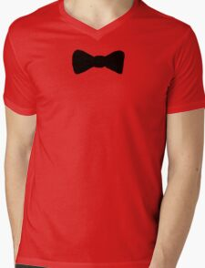 Bowtie Mens V-Neck T-Shirt