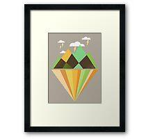 Void Dweller Framed Print
