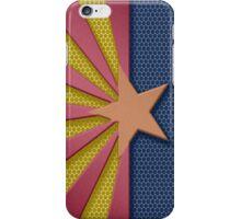 Arizona State Flag Metal Look iPhone Case/Skin