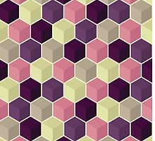 Abstract geometric background by Samado
