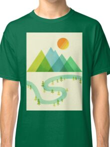 Bend in the River Classic T-Shirt