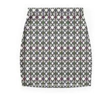Bordados y tejidos Mini Skirt