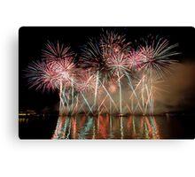 Fireworks 10 Canvas Print