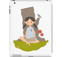 Nature reading iPad Case/Skin