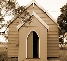 St Thomas' ~ the Nevertire Anglican Church by Jan Stead JEMproductions