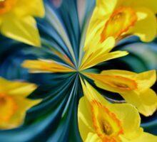 Daffodil Orb Sticker