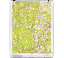 Massachusetts  USGS Historical Topo Map MA Sterling 350623 1950 24000 iPad Case/Skin