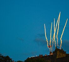Edinburgh Military Tattoo 2010 Fireworks by Richie Wessen