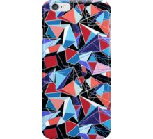 abstract pattern of  structure polygons iPhone Case/Skin