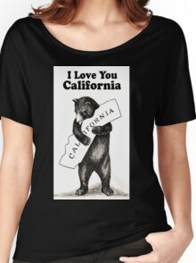 Vintage I Love You California Women's Relaxed Fit T-Shirt
