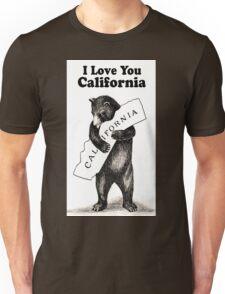Vintage I Love You California Unisex T-Shirt