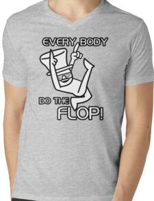 Do The Flop Funny Humour T-Shirt & Hoodie Mens V-Neck T-Shirt