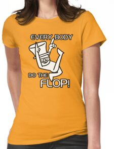 Do The Flop Funny Humour T-Shirt & Hoodie Womens Fitted T-Shirt