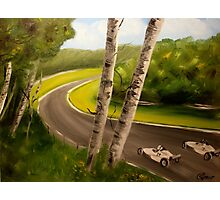 Lime Rock Commission. Acrylic Painting. Photographic Print