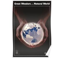 Great Wonders of the Natural World: EARTH Poster