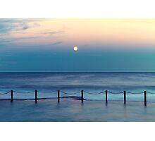 Moon Rising - Mahon Pool  Photographic Print