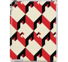 3d cube pattern - geometric design -seamless iPad Case/Skin