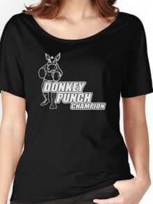 Donkey Punch Champion Funny Humour T-Shirt & Hoodie Women's Relaxed Fit T-Shirt