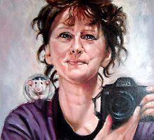 portrait of Ellen by Hidemi Tada